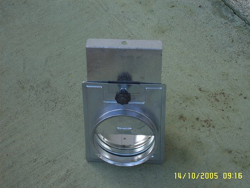 Picture of Guillottine shutter diam.150mm