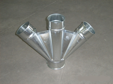 Picture of 3-way deviation diam.150mm