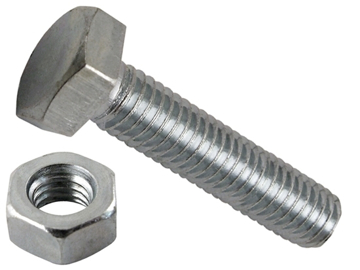 Picture of M8 galvanized nut