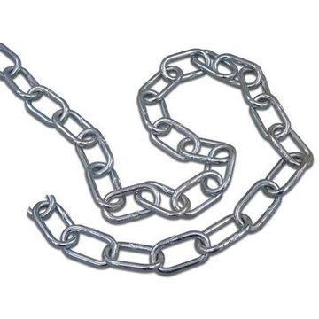 Picture of galvanized chain