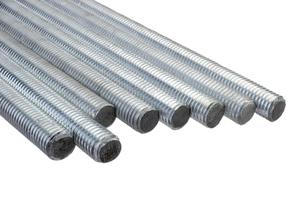 Picture of Galvanized threaded bar